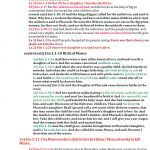 Exo 1:1-2:25 triennial shemot chiasm expanded | christine's bible study at alittleperspective.com