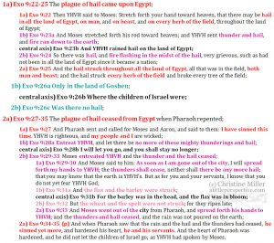 Exo 9:22-35 chiasm | christine's bible study at alittleperspective.com