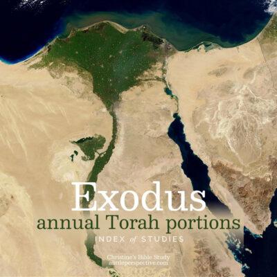 exodus annual torah portions