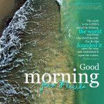 Good morning | alittleperspective.com