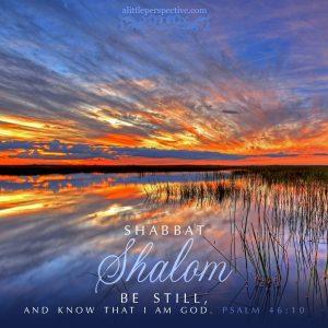 Shabbat Shalom | alittleperspective.com