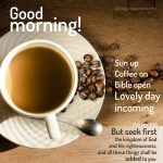Coffee love good morning | alittleperspective.com
