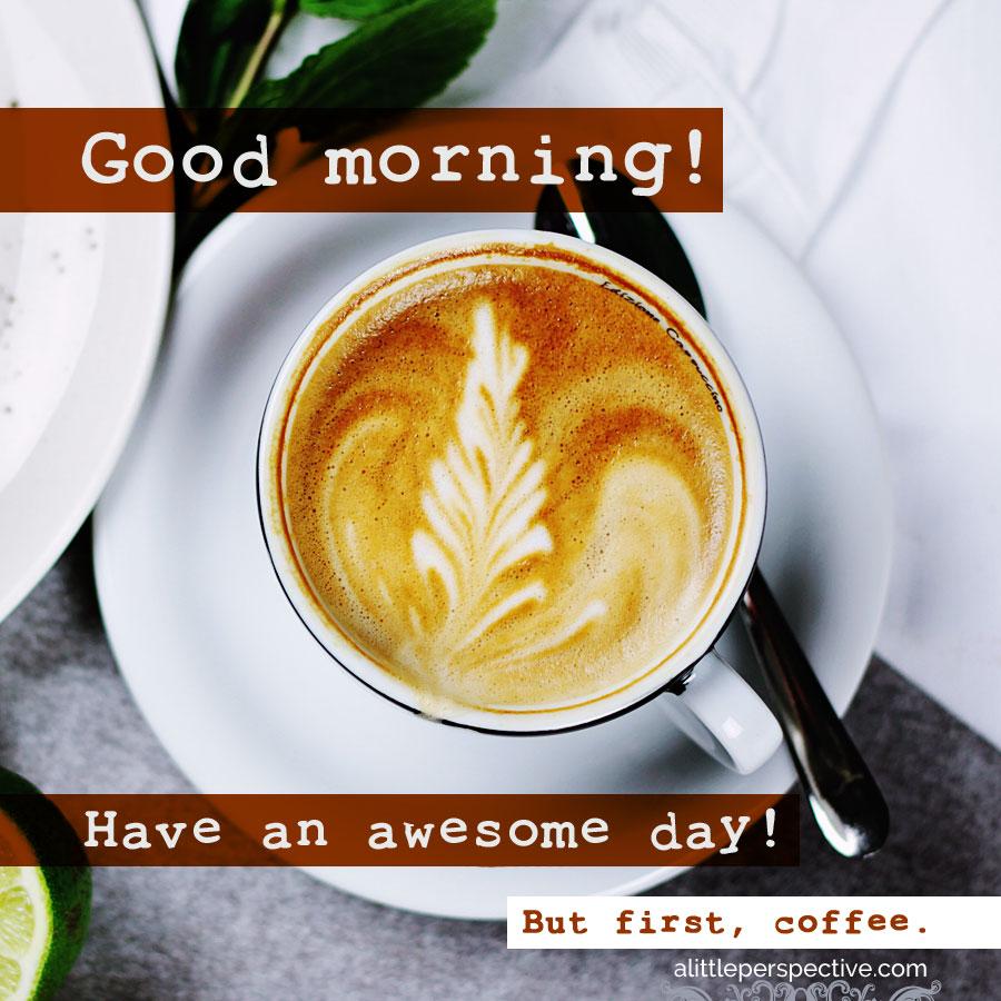 coffee love good morning