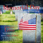 Memorial Day | good morning gallery at alittleperspective.com