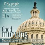 National Day of Prayer | good morning gallery at alittleperspective.com