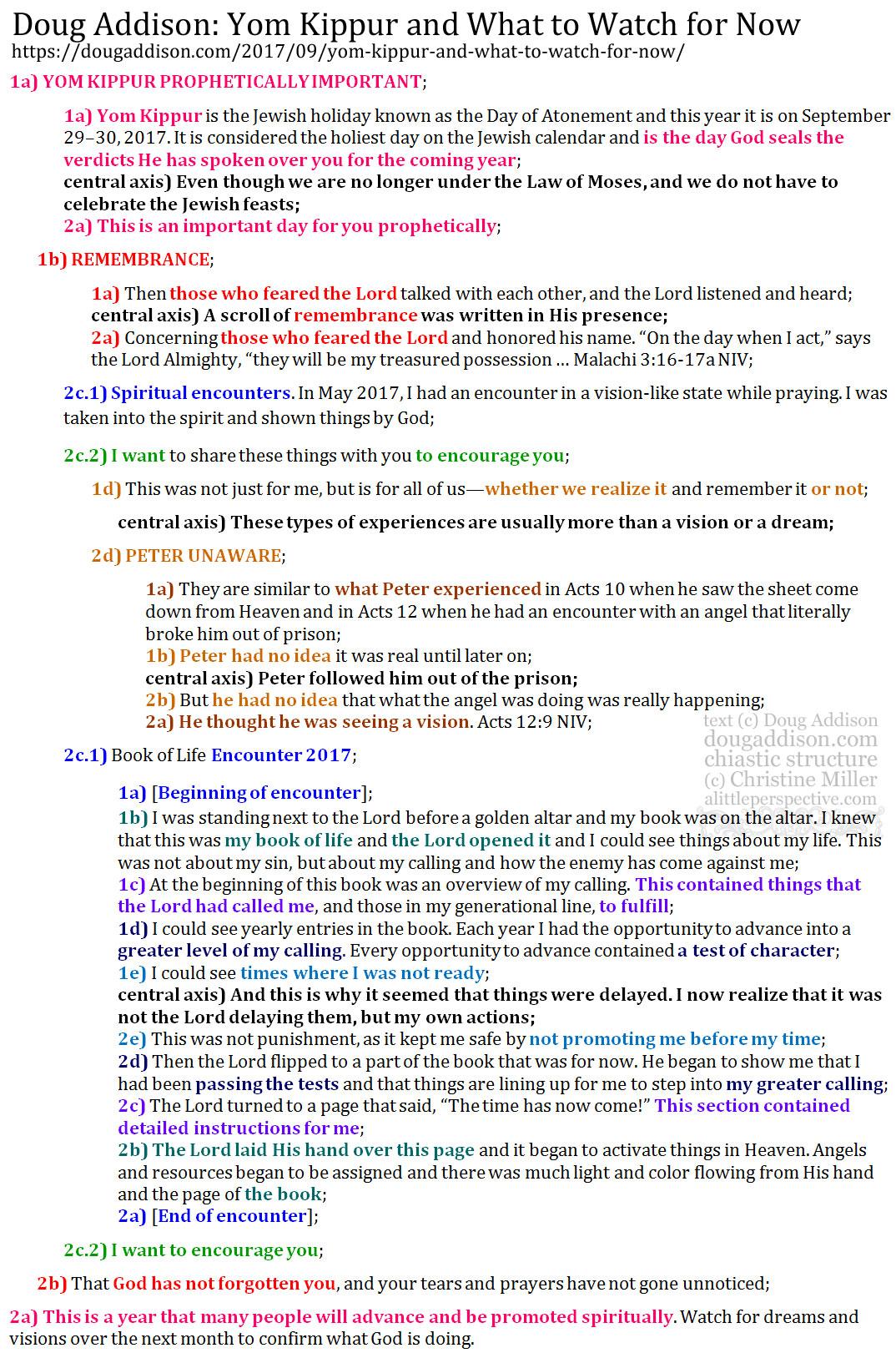 Doug Addison 28 Sep 2017 prophetic word chiasm   the hebraic life at alittleperspective.com