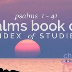 psalms book one index