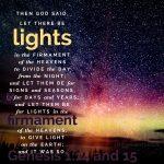 Gen 1:14-15   scripture pictures at alittleperspective.com