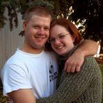The newlyweds,