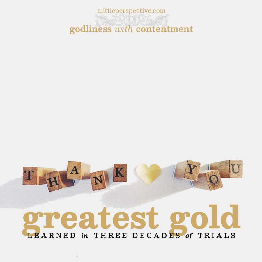 greatest gold | alittleperspective.com