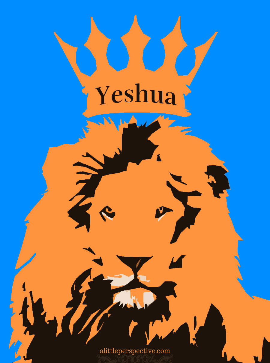 King Yeshua | alittleperspective.com