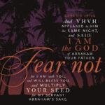 Gen 26:24 | scripture pictures @ alittleperspective.com