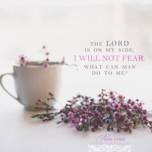 Psa 118:6 | scripture pictures @ alittleperspective.com