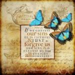 1 Joh 1:9 | Scripture Pictures @ alittleperspective.com