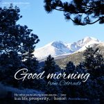 Good Morning | alittleperspective.com