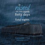 Gen 7:12   scripture pictures at alittleperspective.com