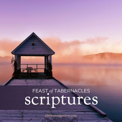 feast of tabernacles scriptures