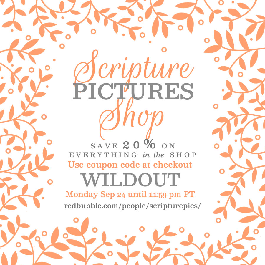 Scripture Pictures Shop Sale | alittleperspective.com