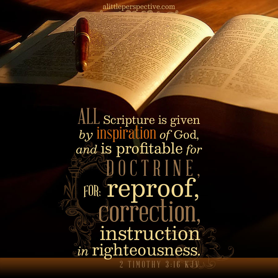 2 Tim 3:16 | scripture pictures at alittleperspective.com