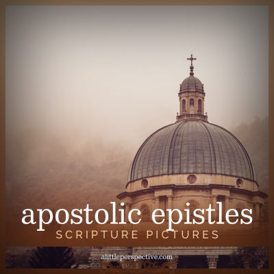 apostolic epistles scripture pictures