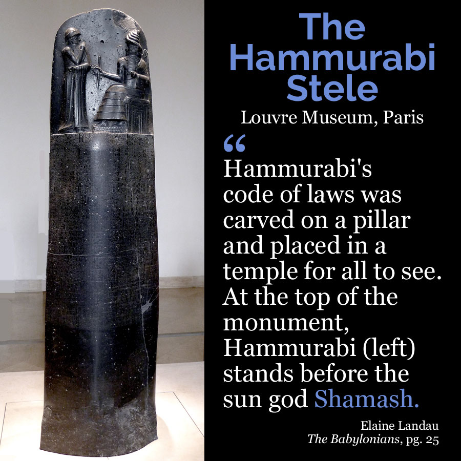 Hammurabi stele | alittleperspective.com