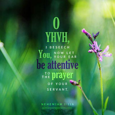 nehemiah 1 through 3