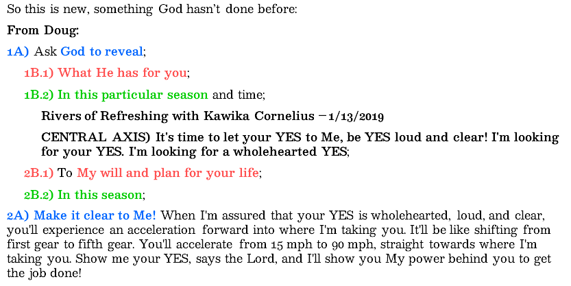 snip from my prayer journal | alittleperspective.com