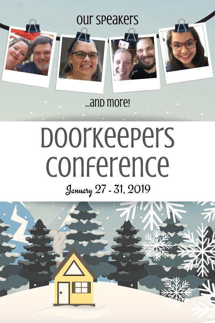 2019 Winter Doorkeepers' Conference | alittleperspective.com