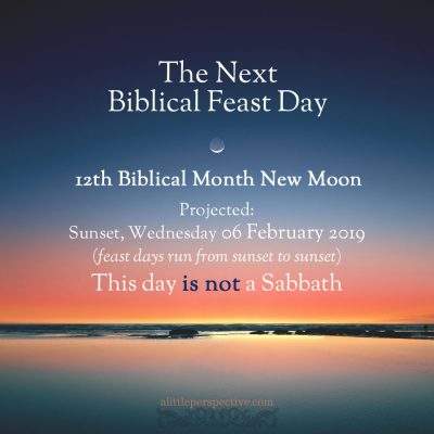 12th month new moon