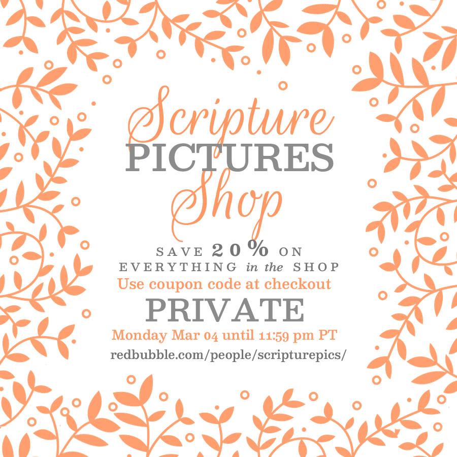 Scripture Pictures Shop Sale | alittleperspective.com