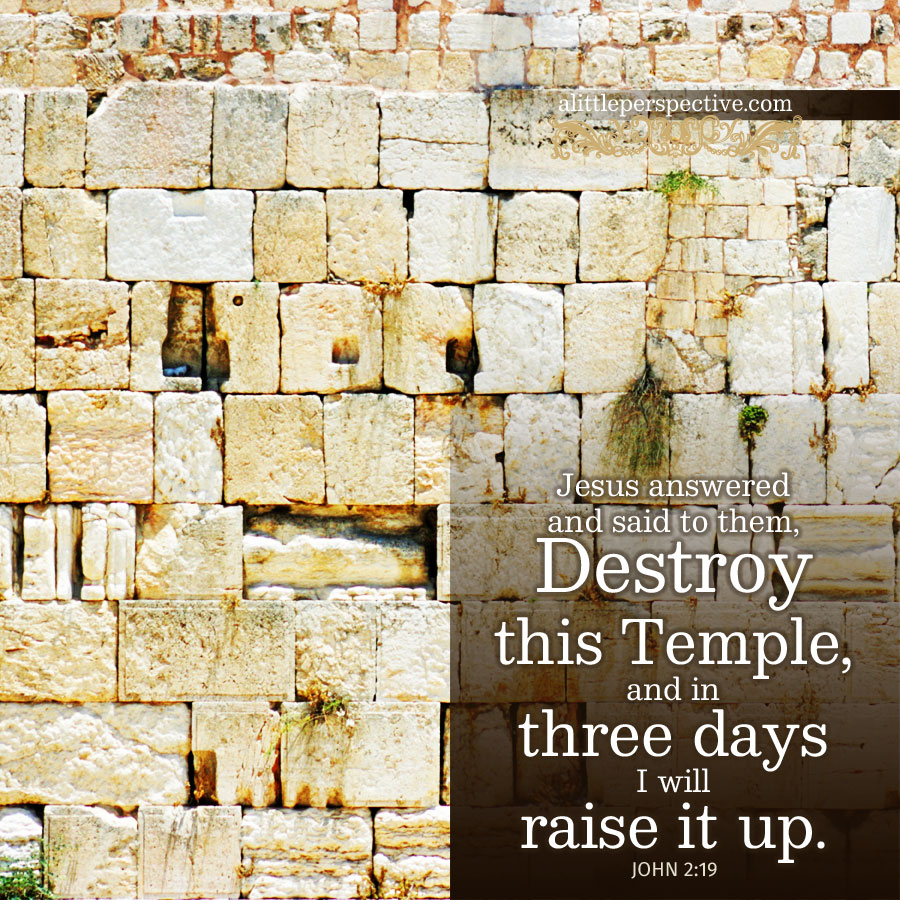 Joh 2:19 | scripture pictures at alittleperspective.com