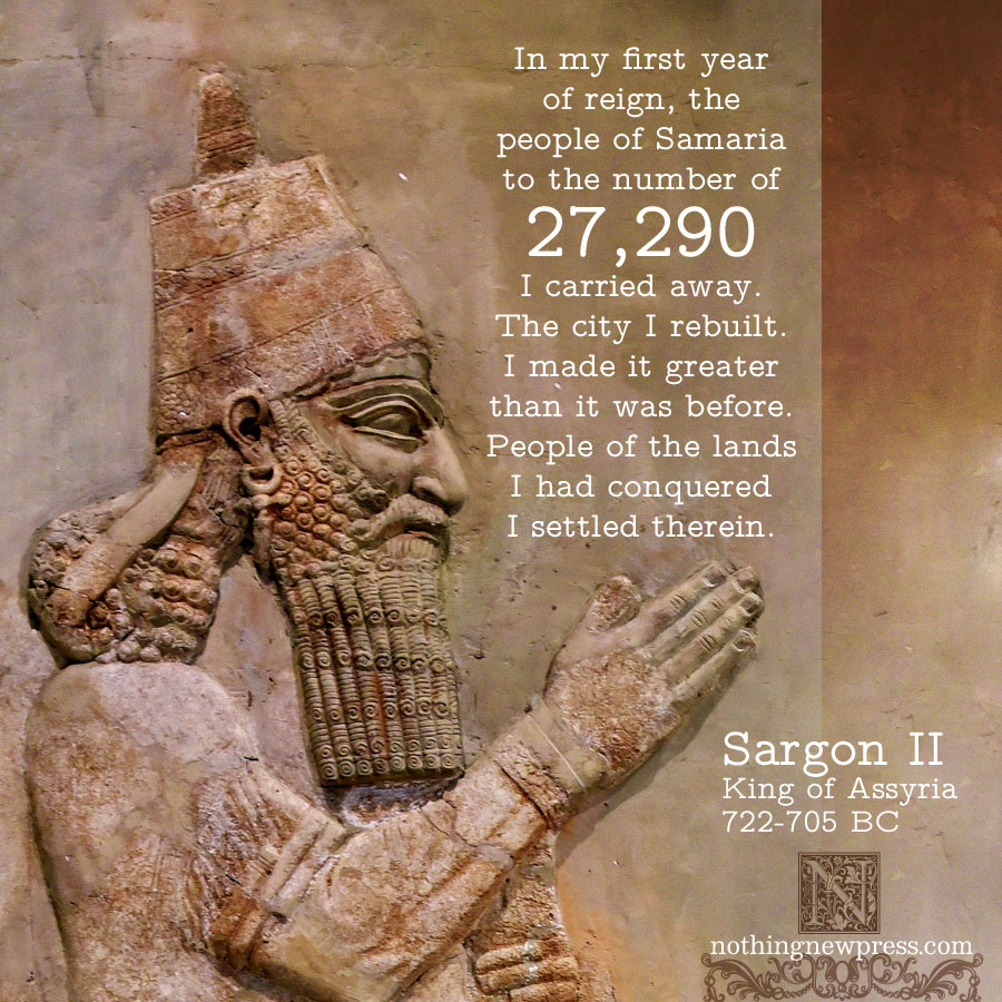 sargon ii | nothingnewpress.com