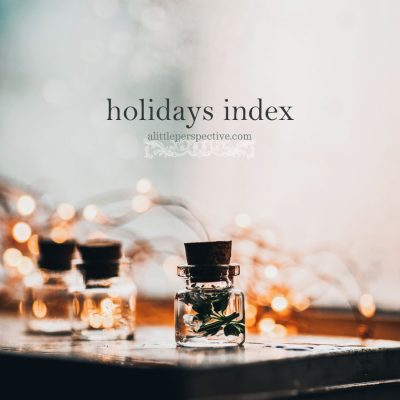 holidays index