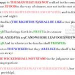Psa 1:1-6 chiasm | hebraicfaithbible.com
