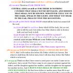 Mat 10:1-11:24 chiasm | hebraicfaithbible.com