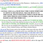 Mat 16:1-28 chiasm summary | hebraicfaithbible.com
