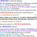 Mat 3:1-4:25 chiasm | hebraicfaithbible.com