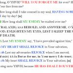 Psa 13:1-6 chiasm | hebraicfaithbible.com