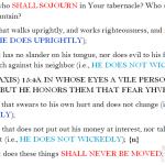 Psa 15:1-5 chiasm | hebraicfaithbible.com