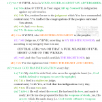 Psa 7:1-17 chiasm | hebraicfaithbible.com