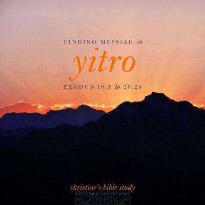 finding messiah in yitro