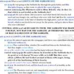 Mar 2:23-3:6 chiasm | hebraicfaithbible.com
