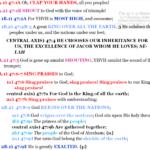 Psa 47:1-9 chiasm | hebraicfaithbible.com