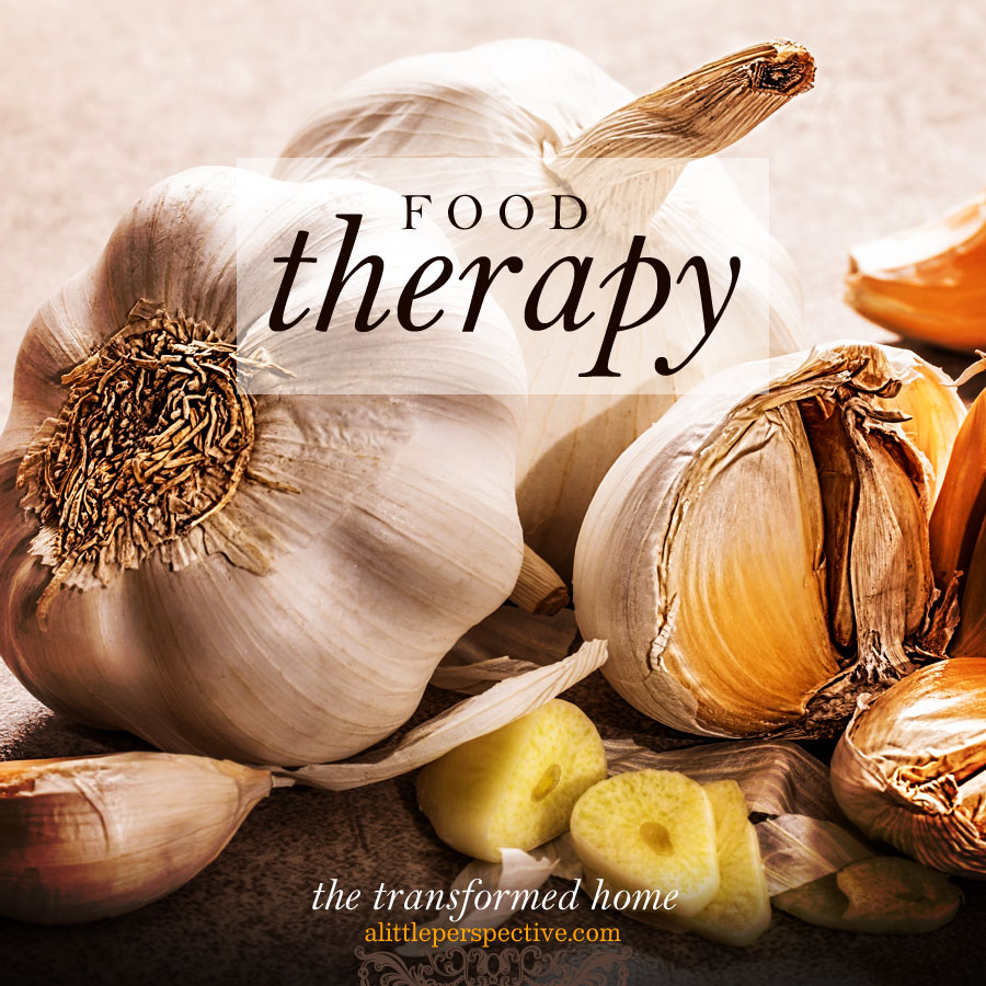 food therapy | the transformed home at alittleperspective.com