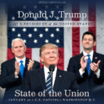 President Trump | State of the Union address | Jan 30, 2018 | alittleperspective.com