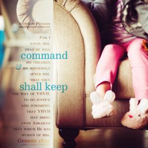 Gen 18:19 | Scripture Pictures @ alittleperspective.com