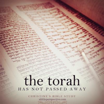 the torah has not passed away