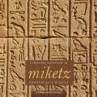 finding messiah in miketz, genesis 41:1-44:17