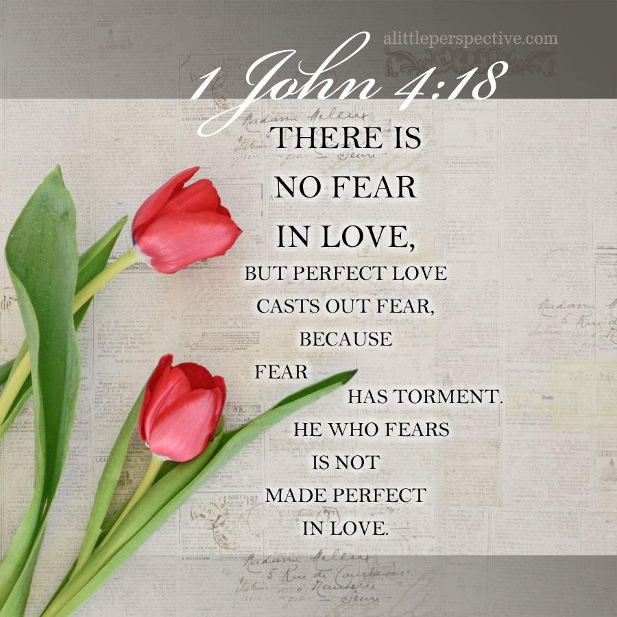 1 Joh 4:18 | scripture pictures @ alittleperspective.com