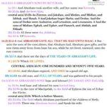 Gen 25:1-11 {p} chiasm | hebraicfaithbible.com
